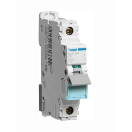 Hager NCN106 6A Type C Single Pole MCB 10kA Mini Circuit Breaker 1P C-6A 1M