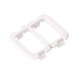 Hager 30mm x 40mm Open Cable Entry Protector Plate (pack of 10), Hager VM03CE Top Wall Protection Plate