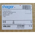 Hager Design 2 Way Metal Consumer Unit 63A Switch Disconnector Incomer (Amendment 3 Compliant)