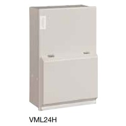 2 Way 40A Metal Garage Consumer Unit Amendment 3 with 30mA RCCB with 1x32A and 1x6A MCB