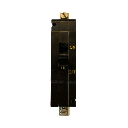 Crabtree C50 10A MCB type C 4.5kA Single Pole Miniature Circuit Breaker (brown)