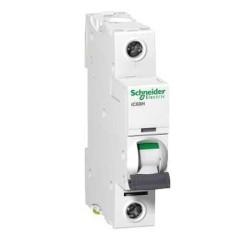 Schneider iC60 50A 1 Pole Type C Curve MCB 10kA 240V Miniature Circuit Breaker A9F54150