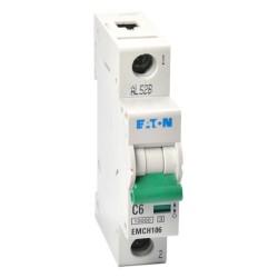Memshield3 6A 1 Module Type C MCB 10kA Single Pole, 6A Miniature Circuit Breaker