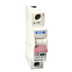 Memshield3 32A 1 Module Type C MCB 10kA Single Pole, 32A Miniature Circuit Breaker