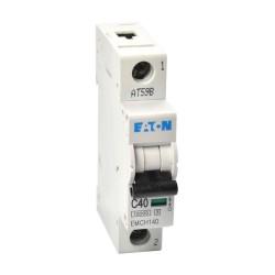 Memshield3 40A 1 Module Type C MCB 10kA Single Pole, 40A Miniature Circuit Breaker