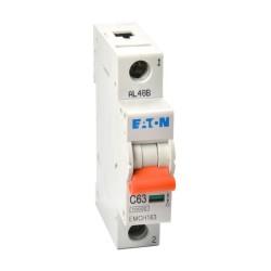 Memshield3 63A 1 Module Type C MCB 10kA Single Pole, 63A Miniature Circuit Breaker
