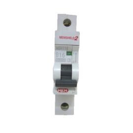 MEM MemShield2 MBH116 Type B 16A Single Pole MCB 10kA 230V AC