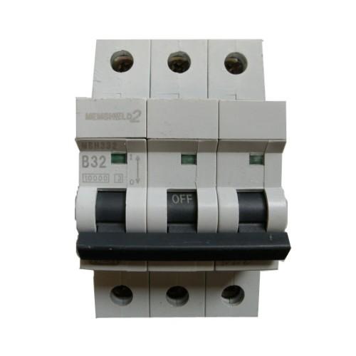 MEM Memshield2 MBH332 32A Triple Pole MCB Type B 10kA Miniature Circuit Breaker