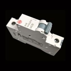 Wylex NHXLB16 MCB 16A Type B Single Pole Miniature Circuit Breaker 6kA 1 Pole 1 Module