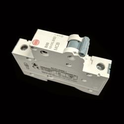 Wylex NHXLB50 MCB 50A Type B Single Pole Miniature Circuit Breaker 6kA 1 Pole 1 Module