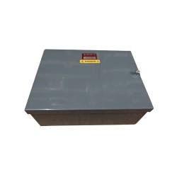 3 Way Ryefield Board taking 100A Fuse Units, 3 Phase Sealable 1 Way Cutout Box Distribution Board