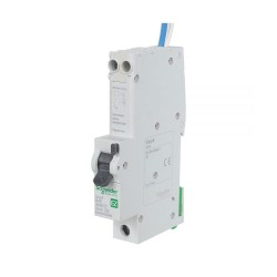 Schneider EZ9D16840 Easy9 40A RCBO 1 Pole + Neutral 6kA 30mA type B 230V with Overcurrent Protection