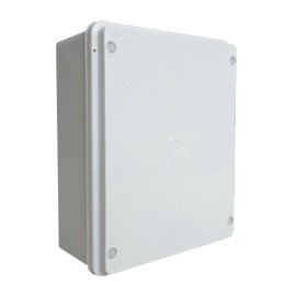IP65 rated 190mm x 150mm x 70mm Adaptable Box in Grey PVC with Rapid Cover Fixing