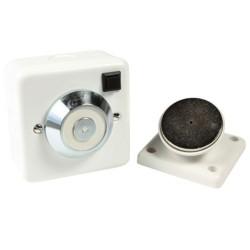 24V Magnetic Fire Door Retainer, 20kg Holding Force for a Robust Door Retainer