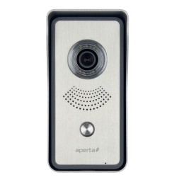Aperta Singleway Video Door Station with High Resolution Camera and Calling Button IP55 ESP APDSSW