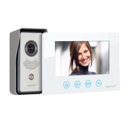Aperta 1 Way Colour Video Door Entry Kit with Door Station, Monitor, and Power Supply ESP APKIT