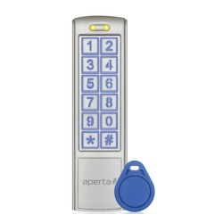 Aperta Proximity and Keypad Door Entry complete with 10 Tags for Door Entry System