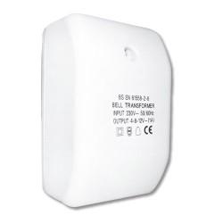 Bell and Chime Multi-Voltage Transformer 230V Input 4V / 8V / 12V (1A) Output
