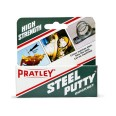 Pratley Steel Putty 125g, Quickset Hand Mouldable Steel Colour Metal Filler and Mender