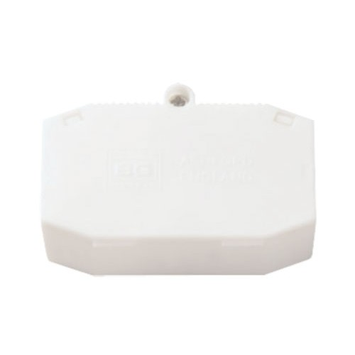 3 Way 10A Lighting Connection Box with Cord Grip, White Junction Box for Vertical/Horizontal Fixing