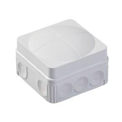 Wiska Combi Junction Box 76 x 76 x 51mm in Grey 5 x 2,5 mm² Terminals IP66/67 Waterproof