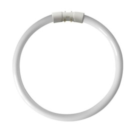 22W 4 Pin CFL Circular T5 Fluorescent Tube Lamp 1800lm 2GX13 12000 h
