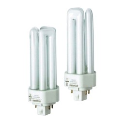 32W GX24q-3 Lynx TE 4000K 2400lm 4 Pin Cool White Frosted Fluorescent Lamp