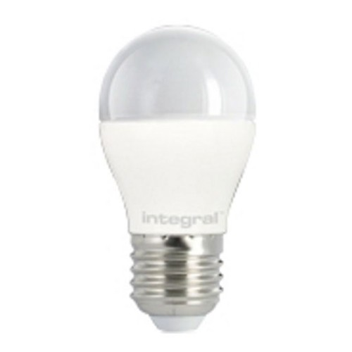 6W LED Mini Globe 2700K 470lm E27 ES, Non-dimmable Frosted LED Golf Ball equiv to 40W