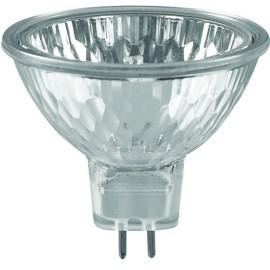 12V 50W MR16 Halogen Light Bulb in Warm White 3000K GU5.3 680lm 2500h Dimmable