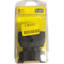 AC1 25A Contactor 415V AC Coil 3 Pole + 1 N/O Auxiliary 380-415V AC 50Hz Coil, IMO CR02C