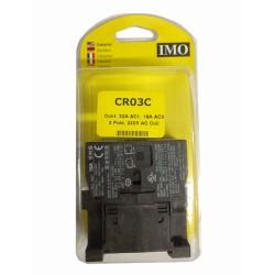 AC1 30A Contactor 240V AC Coil 3 Pole + 1 N/O Auxiliary 220-240V AC 50Hz Coil, IMO CR03C