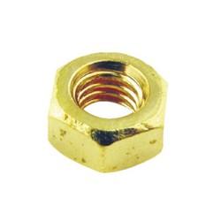 2BA Brass Hexagon Nuts for 2BA screws