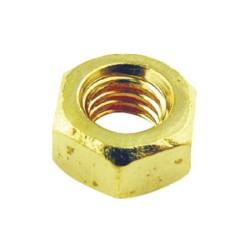 M4 Brass Hexagon Nut - Brass Nut for M4 Screws