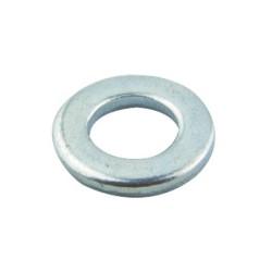 M6 Form A Flat Steel Washer (0BA), Round Washer BZP Steel