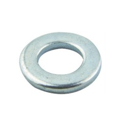 Steel Penny Washer 20mm x 10.5mm, M10 Form A Washers BZP