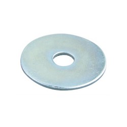 Steel Penny Washer 30mm x 10.5mm hole, M10 Penny Washers BZP