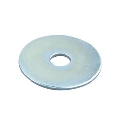 Steel Penny Washer M8 8.5mm x 35mm, M8 Penny Washers BZP