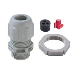 IP68 Plastic Cable Gland ESKV 32/MFD 2 x 16mm Tails and 1 x 10mm Earth Sprint Gland Amendment 3