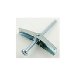 Spring Toggle 5mm x 75mm P/H Slot Screw, M5x75mm Steel Bright Zinc Plated