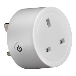 16A Smart Plug Adaptor max. 3560W for Controlling Hard-to-Reach Sockets, Easy to Program!