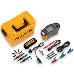 Fluke 1662 Multifunction Installation Tester Kit for Insulation, Volts, Earth, Phase, RCD, Loop, and Continuity Testing