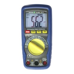 Professional Digital Multimeter Sagab ELMA 911 with Moulded Housing and LCD Display