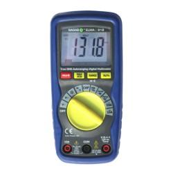 Professional Digital True RMS Multimeter Sagab ELMA 918 with LCD Bargraph Display