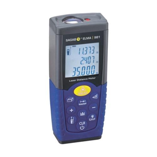 Professional Laser Distance Meter for Indoor Applications Sagab ELMA 981