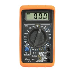 Digital Multitester with 19 Testing Ranges and 7 Functions for AC/DC Voltage