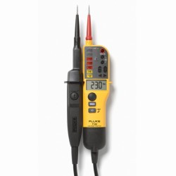 Fluke T130 Electrical Tester, Voltage and Continuity Tester with LCD, Switchable Load