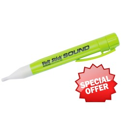 Voltstick Sound Non-Contact Green Voltage Tester with Sounder, Instant AC Voltage Tester