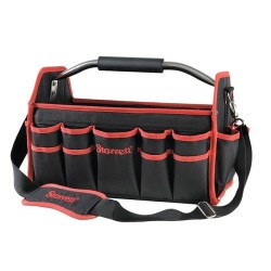 Starrett Large Tool Bag in Black with Large Storage Capacity and 21 + 13 Pockets