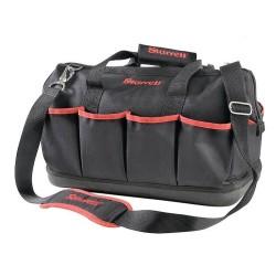 Starrett Medium Tool Bag 400 x 220 x 320mm, Heavy Duty Bag with Zipper and Shoulder Strap