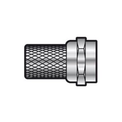 F Connector Twist on for RG58 Cable and Dual Satellite Cable
